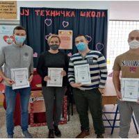 Uručeni sertifikati učenicima Tehničke škole Doboj